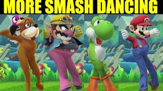 Bayonetta Teaches More Dance Moves To Every Character in Smash Bros Wii U (Smash 4 Mods)