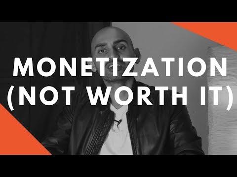 Why I Do NOT Monetize Videos (My CRAZY YouTube Marketing Strategy)