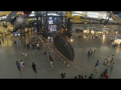 The Lockheed Blackbird SR-71A spy...