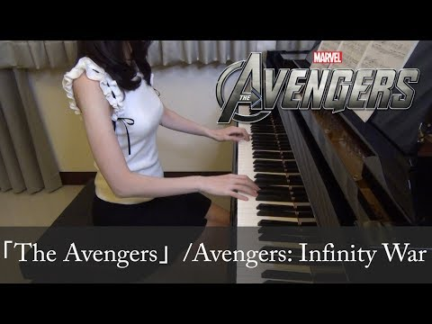 """Alan Silvestri  """"The Avengers Theme"""" Cover by Pan Piano"""