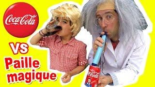 Video COCA VS PAILLE MAGIQUE - Que se passe-t-il pour le goût, la couleur & les bulles ? Docteur Bidouille MP3, 3GP, MP4, WEBM, AVI, FLV Oktober 2017
