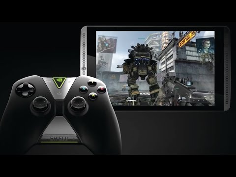 high - Nvidia shows off it's newest Shield tablet and controller.