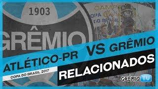 Confira os relacionados do Tricolor para a partida de volta das quartas de final da Copa do Brasil 2017! → Inscreva-se no canal e...