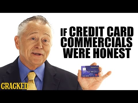 Why Credit Cards Are A Scam - Honest Ads (видео)