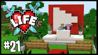 MY SILVER PLAY BUTTON CEREMONY!!   Minecraft X Life SMP   #21