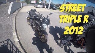9. Je teste pour vous la : TRIUMPH STREET TRIPLE R 2012