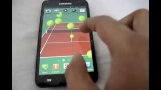 Tennis Live Wallpaper YouTube video