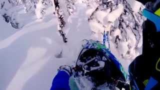 6. Steep and Deep Polaris RMK 600 Turbo Thunderstruck Films