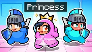 Saving Our PRINCESS IMPOSTER In Among Us!