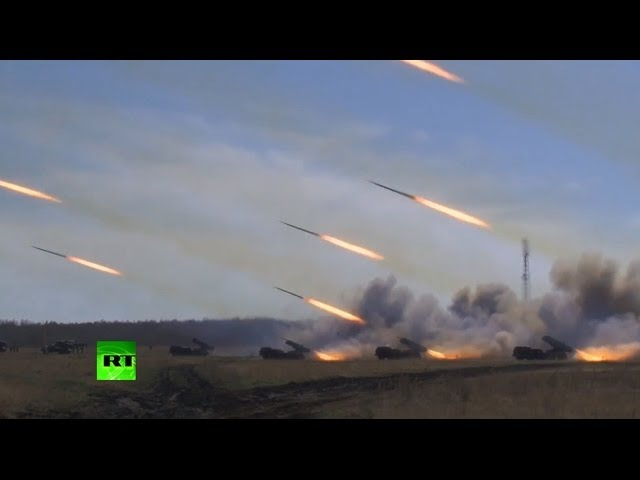 Impressive Russia Test-Launches Missiles