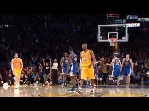 Strike - Take a look back at the best highlights from Kobe Bryant's 2012-2013 NBA season as he makes his long-awaited return to the hardwood.