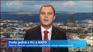 Duda jedná s EU a NATO