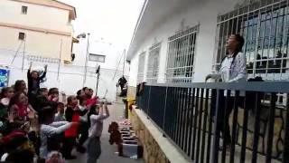 """""""MASTER CLASS DE ZUMBA EN EL COLEGIO MADRE PETRA"""""""