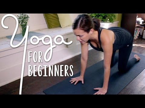 Yoga For Complete Beginners – 20 Minute Home Yoga Workout!