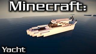 Minecraft: Small Yacht Tutorial 7
