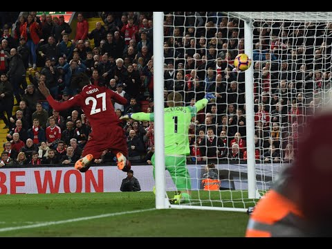 Multi-angle Of Origi's 90'+6 Goal - Liverpool Vs. Everton Derby - 2018.12.02 @Anfield