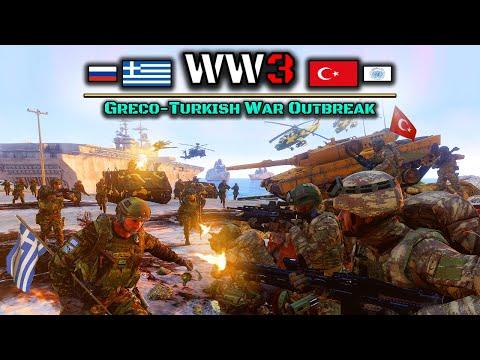 Russia-Greece vs Turkey-UNFICYP   World War 3: Season 2 Episode 7