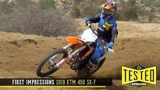 2. First Impressions: 2019 KTM 450 SX-F