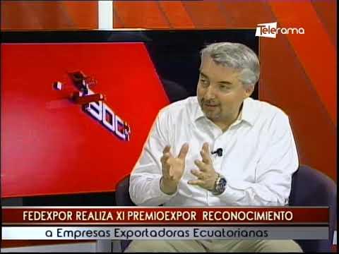Fedexpor realiza XI Premioexpor reconocimiento a empresas exportadoras ecuatorianas