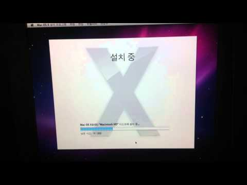 Snow leopard(10.6) on GA-H61M-S2PV Rev 2.1 (видео)