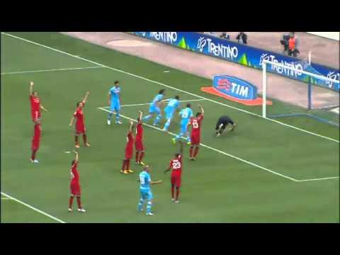 Napoli-Cagliari 3-2 Sky Sport Highlights - Ampia Sintesi 21/04/2013