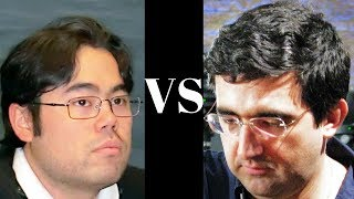 Amazing Chess Game : Hikaru Nakamura vs Vladimir Kramnik - Tense struggle to the end! - Oly.  2012
