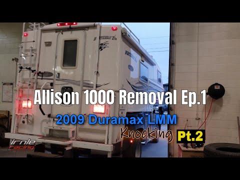 Duramax LMM Knocking Pt.2: Allison Transmission Removal Ep.1