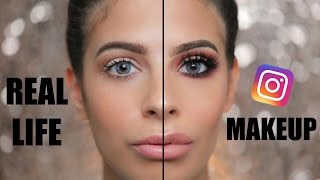 Hey Larlees todays video is Instagram makeup look vs everyday real life makeup look. I love the way both sides turn out. When I worked at the dermatologist I...