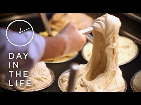 Making 500 Pounds Of Stretchy Ice Cream A Day • Tasty