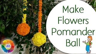 Welcome Easy Life IdeasVideo URL: https://youtu.be/v7INmXsb7yUYou can make flower Pomander Ball from plastic ball, for all types EVENTS.....Preparation :1. Marigold Flowers2. Plastic Ball3. Thread4. Niddle5. Solder IronThe Great Indian Channel Which Serves You The Best To Make Your Day To Day Life Easier And More Comfortable. It Is The Need Of Such A Busy Life.This Channel Promise To Its Viewers To Promote It's Innovation At You ! Thanks For Watching My Videos & Please LIKE & SUBSCRIBE My Channel For More 'IDEAS'About EASY LIFE IDEAS Channel:This channel is all about How To, Home Made, DIY, Great Ideas, simple, funny and entertainment for Viewers…WARNING: My videos are provided only for entertainment and watching purposes only. Please don't try to do what I did in my videos. No one is liable for any loss or damage caused by your reliance on information contained in my videos. Entertain yourself but always be safe, and everything you do is at YOUR OWN RISK!!!!