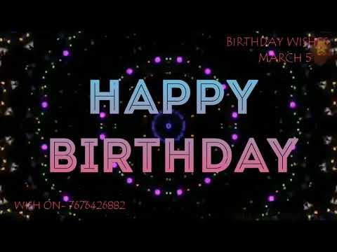 Funny birthday wishes - HAPPY BIRTHDAY MANOJ  BIRTHDAY WISHES  MARCH 5  HAPPY BIRTHDAY WISHING STATUS