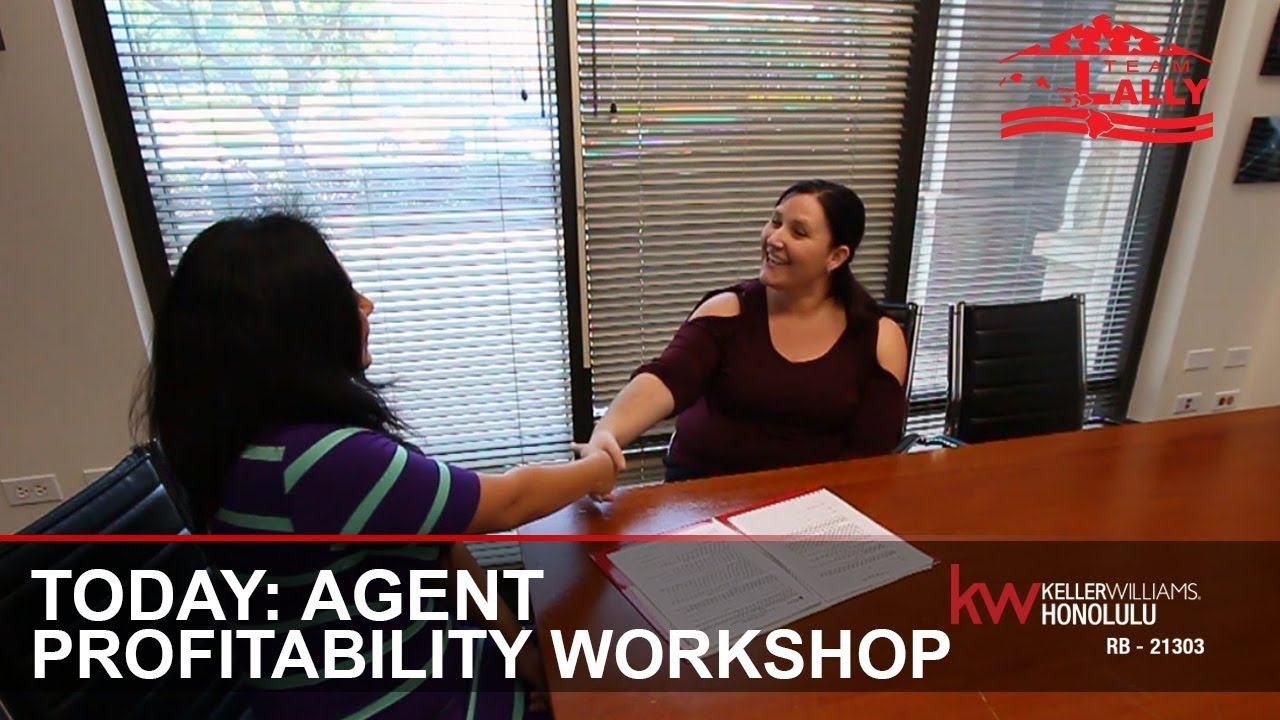Today: Agent Profitability Workshop