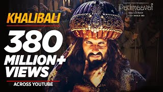 Video Padmaavat: Khalibali - Ranveer Singh | Deepika Padukone | Shahid Kapoor | Shivam Pathak MP3, 3GP, MP4, WEBM, AVI, FLV April 2018