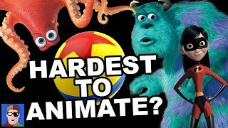 Video TOP 10 Hardest to Animate Things in Pixar MP3, 3GP, MP4, WEBM, AVI, FLV April 2018