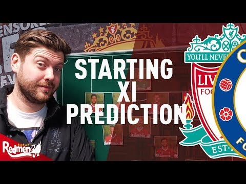 Liverpool V Chelsea | Starting XI Prediction LIVE