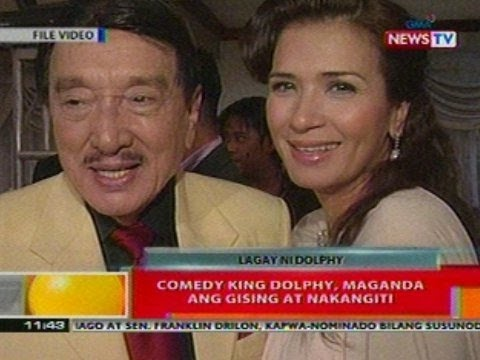 BT: Comedy King Dolphy, maganda ang gising at nakangiti