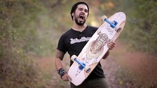 Longboard BoardGuide Reviews: The Arbiter 36 KT with Sean
