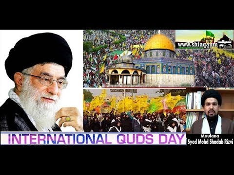 International Quds Day- Shadab Rizvi- shiaqaum.com- Saleha Rizvi