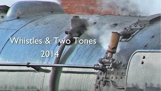 The tenth of this year's 'Whistles & Two Tones' videos. This month's features whistles and two tones from the mainline, the West Somerset Railway, the Great ...