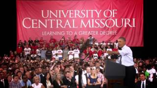 President Obama Touts STA\'s Partnership with UCM