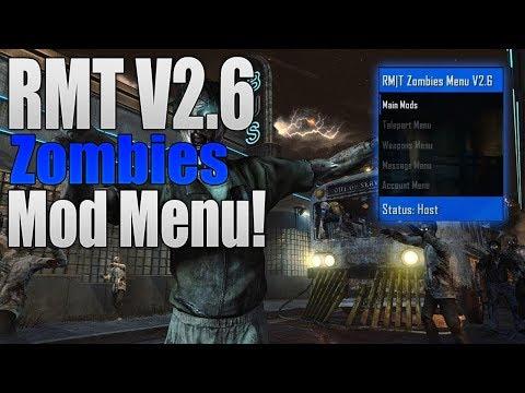 BO2 RMT V2 6 BEST FREE ZOMBIES GSC/GSCR MOD MENU! (XBOX/PS3/PC)[2017