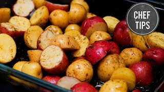 Roasted potatoes are a great side dish to any meal and they are so easy to make. Chef Jason Hill shows you how to make a great...
