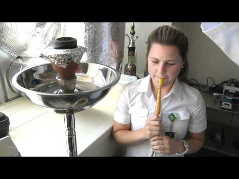 Hookah luchtvervuiling