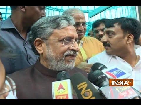 Sushil Modi: PM Modi and Nitish Kumar will bring back development in Bihar