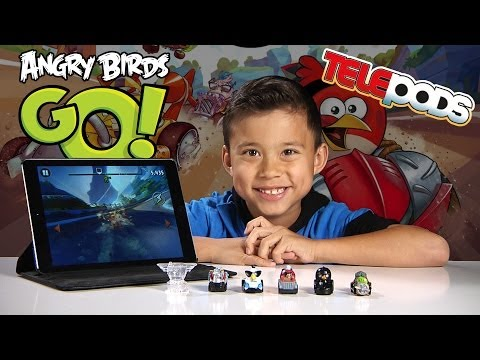 angry - For more Angry Birds GO! Gameplay check out EvanTubeGaming: htttp://www.youtube.com/evantubegaming It's time for Angry Birds GO! Evan unboxes the Toys