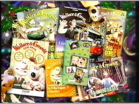 BBC2 Wallace and Gromit pack promo- 1996