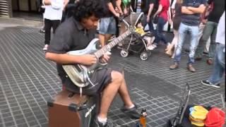 "Scorpions: Still Loving You ""Cover"" Guitarra electrica  Damian Salazar"