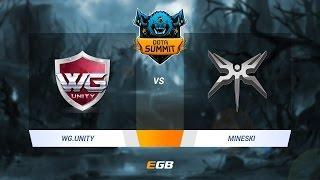 WG.Unity vs Mineski, Game 2, Dota Summit 7 SEA Qualifier