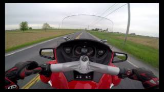 5. 2012 Can Am RT-S Spyder Test Drive Review