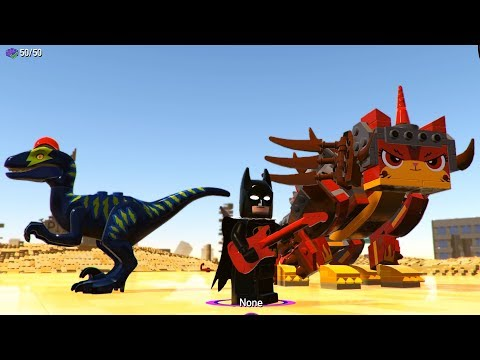 The LEGO Movie 2 Videogame - All Characters Shown (PC HD) [1080p60FPS]